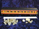 No# 9554OC Model Power Harriman Parlor Observation Car: HW