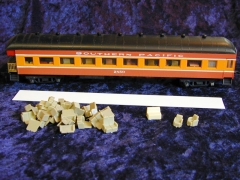 No# 9504OC Model Power Harriman Coach Observation Car: HW