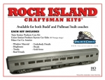 Prod #: PC96007 Rock Island Coach/Dormitory